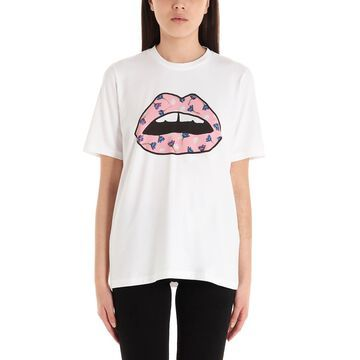 Markus Lupfer floaty Floral Lip T-shirt
