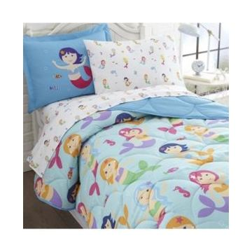 Wildkin's Mermaids Sheet Set - Twin Bedding