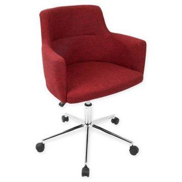 LumiSource Andrew Office Chair in Red
