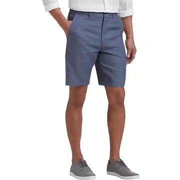 Joseph Abboud Blue Men's Modern Fit Linen Shorts - Size: 40W