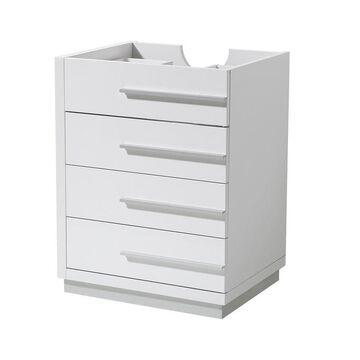 Fresca Fresca Livello 24-in White Modern Bathroom Cabinet