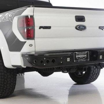 Addictive Desert Designs ADDR012231280103 Venom Rear Bumper with Back Up Sensor