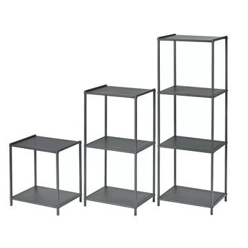 neatfreak 3-piece Stamped Metal Shelf Set