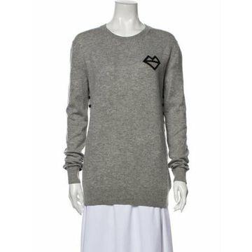 Wool Graphic Print Sweater Wool