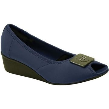 Ros Hommerson Women's Eloise Navy Stretch Fabric