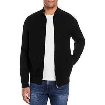 Boss Mileo Zip Front Sweater