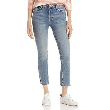 Mother The Rascal Ankle Fray Jeans
