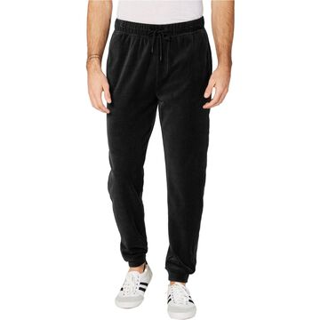 Ideology Mens Velour Casual Jogger Pants