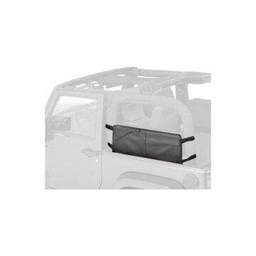 Bestop 54110-35 Jeep Wrangler 2- or 4-Door Roughrider Saddlebag/Duffle, Black Diamond