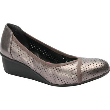 Ros Hommerson Women's Evelyn Pewter Leather