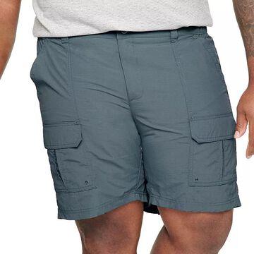 Big & Tall Croft & Barrow Outdoor Ripstop Cargo Shorts, Men's, Size: 54, Med Blue