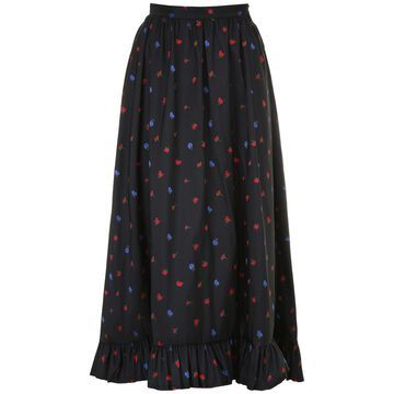 Philosophy di Lorenzo Serafini Long Floral Skirt