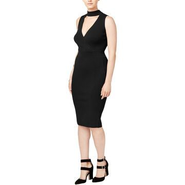 XOXO Womens Juniors Sleeveless Midi Sweaterdress
