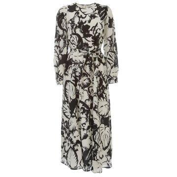 Essentiel Antwerp Vogel Long Wide Dress L/s
