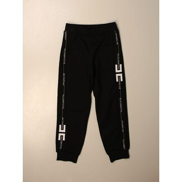 Elisabetta Franchi jogging trousers with logoed bands