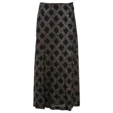 Dries Van Noten Black Viscose Skirts