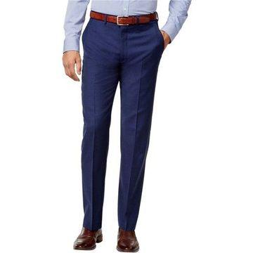 Ryan Seacrest Distinction Mens Solid Modern Fit Dress Pant Slacks