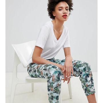Esprit Tropical Printed Sweatpants