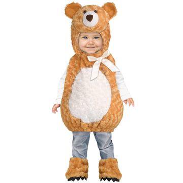 Fun World Teddy Bear Infant/Toddler Costume-2T-4T