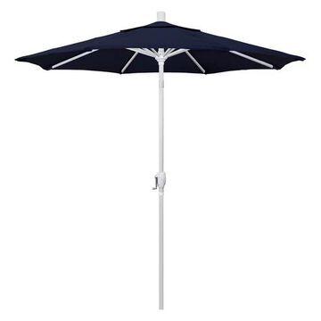 California Umbrella 7.5' Market Patio Umbrella, Navy Blue