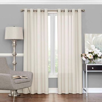 eclipse Eclipse Liberty UV Light Filtering Sheer Window Curtain