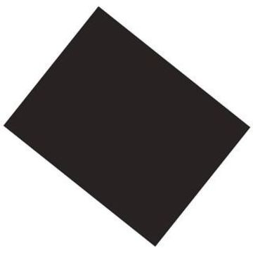 Pacon Black Coated Poster Board, 22