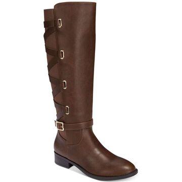 Thalia Sodi Womens Veronika Round Toe Knee High Fashion Boots