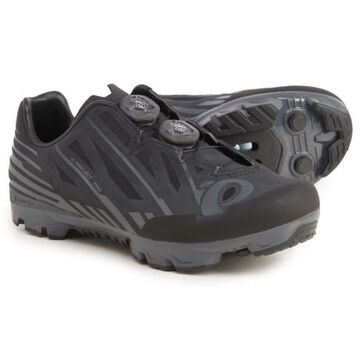 X-Project P.R.O. Mountain Bike Shoes - SPD (For Men and Women) - BLACK/SHADOW GREY (38 )