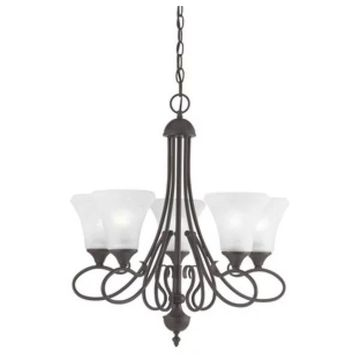 Thomas Lighting Elipse - Five Light Chandelier
