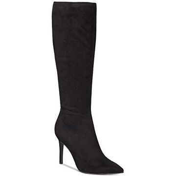 Thalia Sodi Womens Rajel Fabric Pointed Toe Knee High Fashion