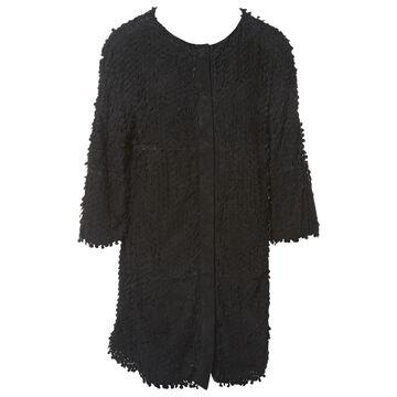 Herno \N Black Suede Coats
