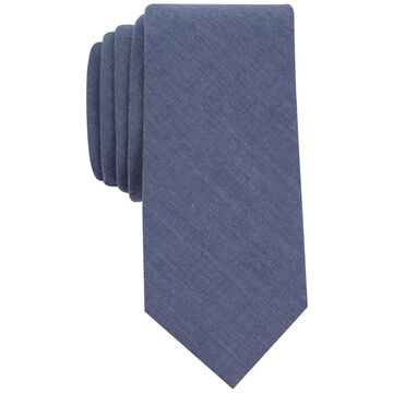 bar III Mens Chambray Necktie