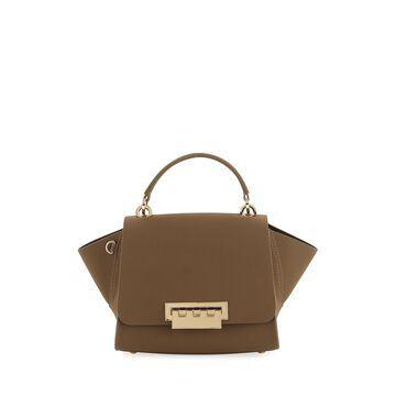 Eartha Suede Top-Handle Crossbody Bag