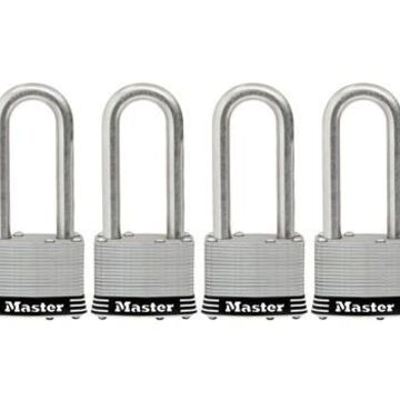 236794 2 in. Stainless Steel Laminated Padlock - Pack of 4