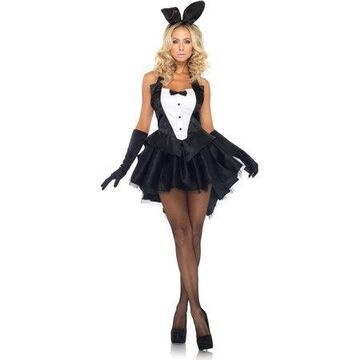 Leg Avenue Women's Tux And Tails Sexy Bunny Costume