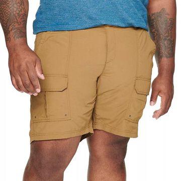 Big & Tall Croft & Barrow Outdoor Ripstop Cargo Shorts, Men's, Size: 52, Med Brown