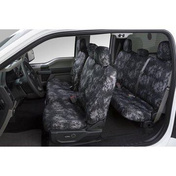 Covercraft Prym1 Blackout Camo Seat Covers For Ford - Front