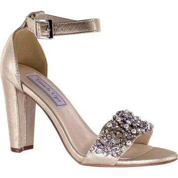 Touch Ups Women's Felicity Jeweled Sandal Nude Shimmer