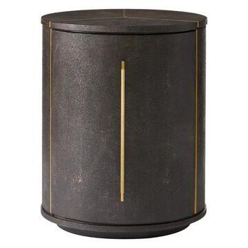 Stanley Panavista Sundial Drum Table in Sable 704-75-14