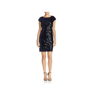 Eliza J Womens Party Dress Velvet Sequined