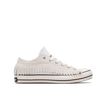 Palm Angels Fringe Low Vulcanized Sneakers