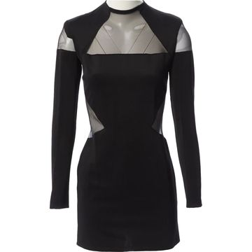 Balmain Black Synthetic Dresses