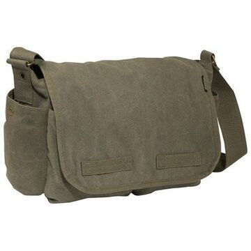 Everest Large Cotton Canvas Messenger Bag