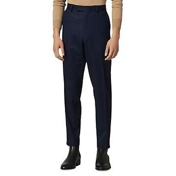 Sandro Notch Flannel 120's Slim Fit Suit Pants