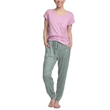 Muk Luks Cloud Knit Short Sleeve Pajama Set