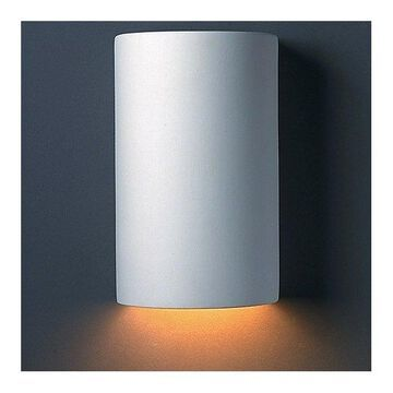 Cylinder Wall Sconce by Justice Design Group