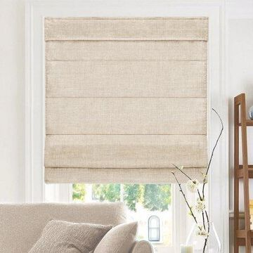 CHICOLOGY Privacy & Light Filtering Cordless Roman Shades