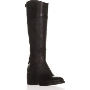Patricia Nash Loretta Wide Calf Riding Boots, Black