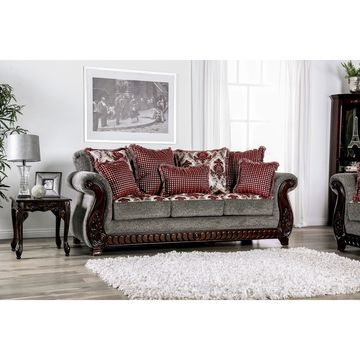 Furniture of America Sharone Traditional Sofa