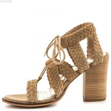 Diba True Womens Tradin Up Leather Open Toe Casual Strappy